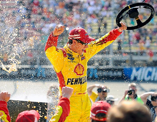 When the hard-driving Logano takes the wheel with his win-or-wreck philosophy, sparks often fly.