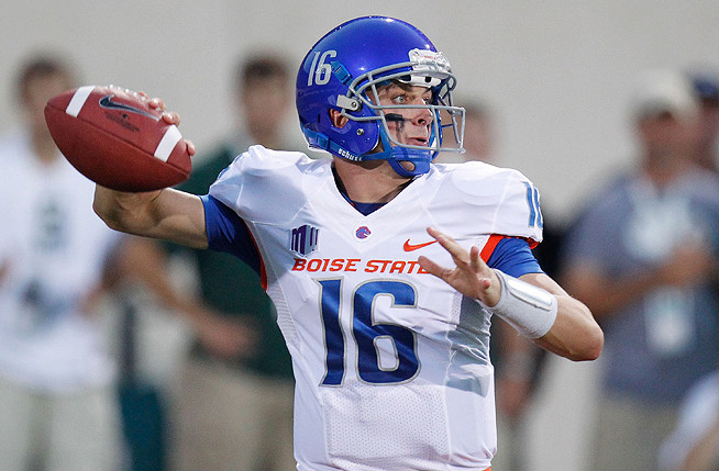 Joe Southwick threw nine touchdowns without a pick in Boise State's final four games of last season.