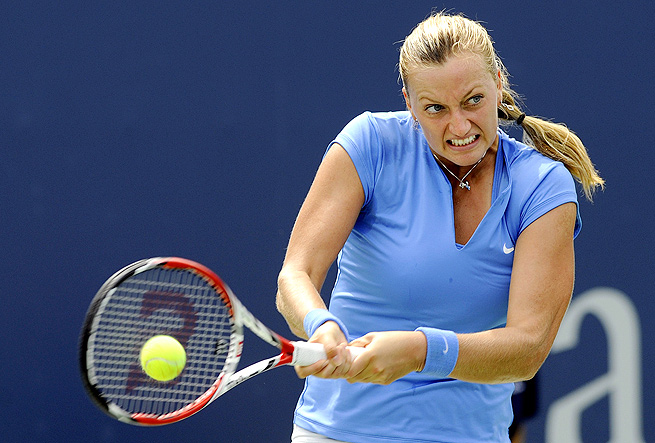 For the second year in a row, Petra Kvitova will play in the finals of the New Haven Open.