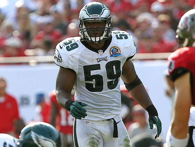 Ryans is now undergoing his second major defensive change in the last few years. He struggled when the Texans moved from a 4-3 to a 3-4 in 2011, had a rebound year with the Eagles in '12 (he was one of the few bright spots on a really bad defense) and now, he's in the spotlight as Philly's new defensive coordinator, Billy Davis, transitions to more 3-4 principles in the next couple of seasons.