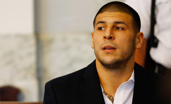 A day after a grand jury indicted Aaron Hernandez for murder, his cousin pleaded not guilty on contempt charges.
