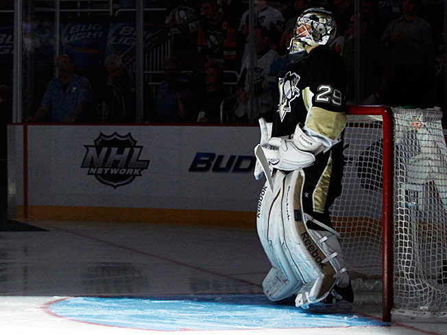 The spotlight will be on Marc-Andre Fleury, who is working with a psychologist and new goalie coach.