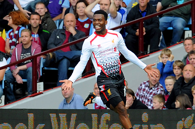 Daniel Sturridge scored the winning goal for Liverpool to keep his team's perfect start going.