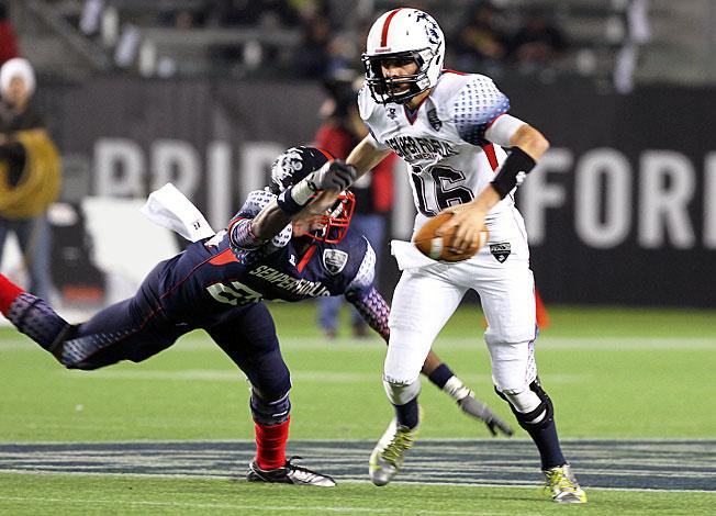 True freshman quarterback Jared Goff (16) will start for Cal when the Bears host Northwestern Week 1.
