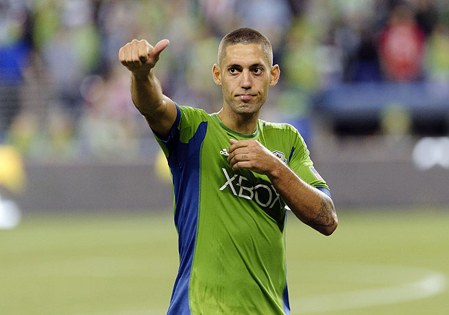 Clint Dempsey may not have scored for Seattle yet, but he leads the pack in terms of fan appreciation.