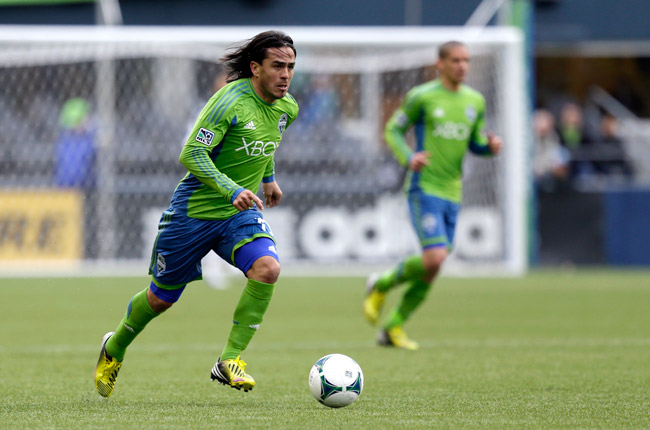 Seattle's Mauro Rosales has scored three goals and recorded six assists this season.