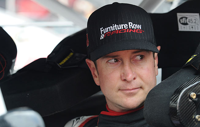 Kurt Busch has the underfunded, single-car Furniture Row Racing team in Chase contention.