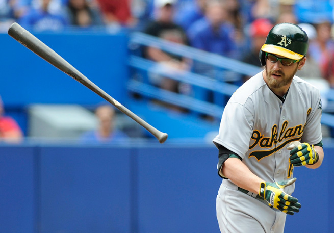 After a breakout 2012, Josh Reddick has struggled in 2013, hitting only .213 with 46 RBI.