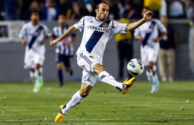 Landon Donovan has won five MLS Cups, including two with the Galaxy.