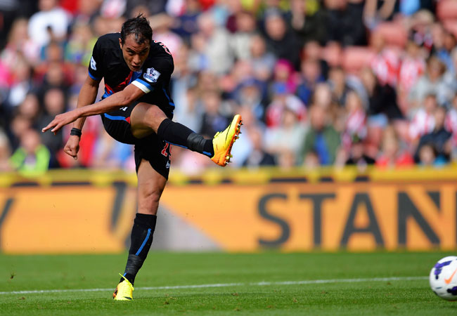 On Saturday Marouane Chamakh scored his first Premier League goal since September 2011.