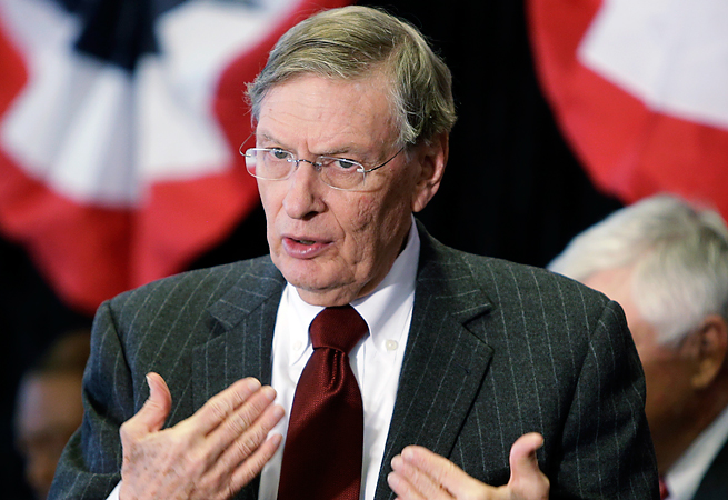 Bud Selig has said that Major League Baseball will not stop its season to send players to the Olympics.