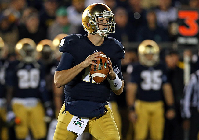 Tommy Rees has become Notre Dame's starting quarterback again with Everett Golson out of the fold.