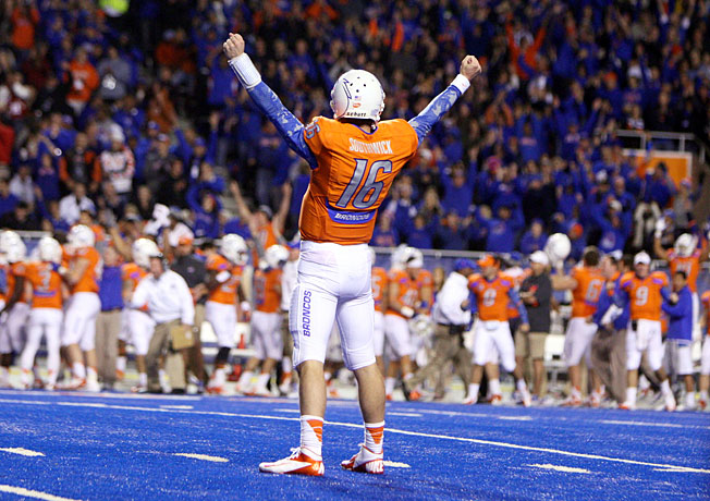 Quarterback Joe Southwick and Boise State hope to bust the BCS one final time in the 2013 campaign.