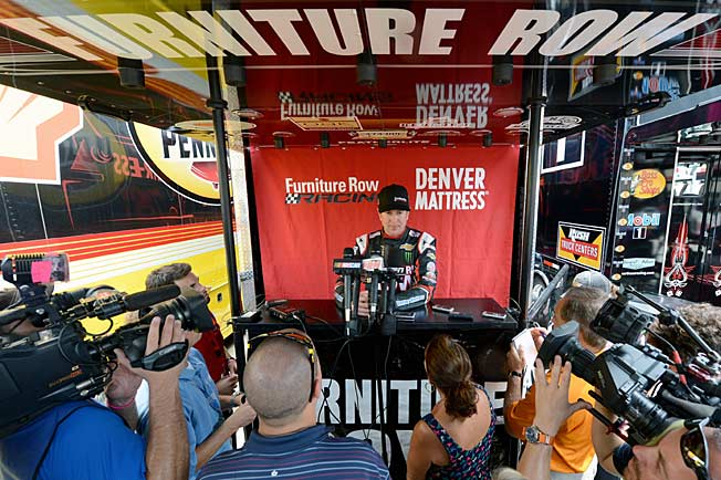 Success with single-car Furniture Row has revived Kurt Busch's career and standing with fans.