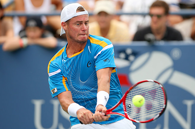 Lleyton Hewitt is a win away from making his first Grand Slam quarterfinal since Wimbledon in 2009.