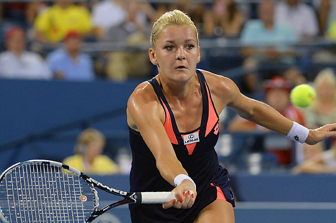 This is the fourth time since 2007 that Radwanska has left Flushing Meadows in the fourth round.