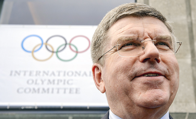 Thomas Bach is considered the favorite entering next week's election for the next IOC president.