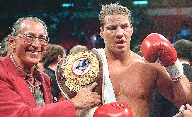 Tommy Morrison, who beat George Foreman to win the WBO heavyweight title in 1993, died Sunday.