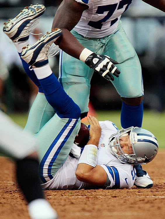Tony Romo plays great until crunch time. Then he somehow always seems to unravel. There are those in Texas who believe Dallas will never even reach a Super Bowl with him at quarterback.