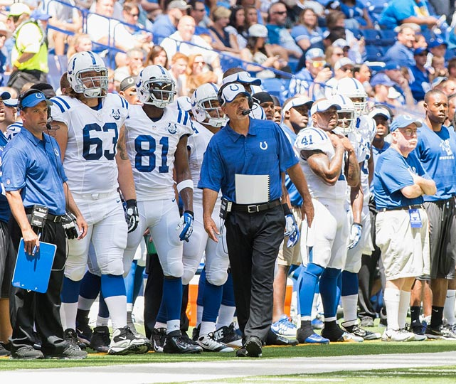 """Emotion fueled much of the """"Chuckstrong"""" Colts' run to an improbable 11-5 record and the playoffs last season. A return trip will be a much bigger challenge, even if Ahmad Bradshaw does hold up as the team's No. 1 running back.."""