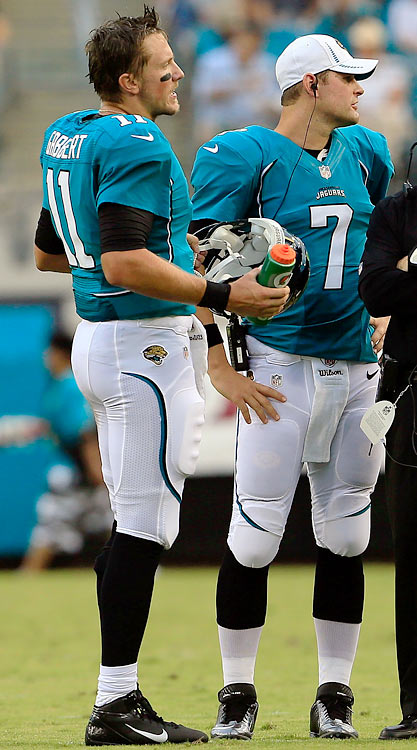 Having to choose between Blaine Gabbert or Chad Henne as the starting quarterback is the true definition of a dilemma for first-year head coach Gus Bradley -- and not an omen for a winning season.