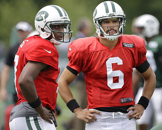 I'll say this standing sideways, standing with my back turned or standing on my head: The Jets will never get to a Super Bowl with the quarterbacks they have on the roster now.