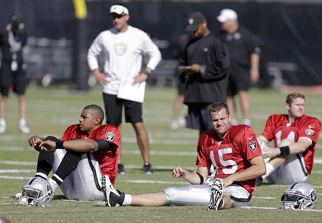 Do you really think Matt Flynn can lead the Raiders to a winning season? Do you really think Terrelle Pryor can?