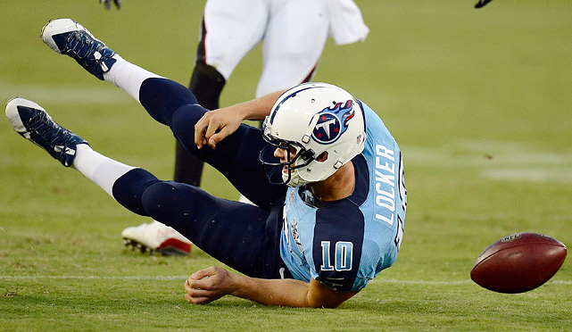 In his first season as the primary starting quarterback, Jake Locker had 10 touchdown passes, 11 interceptions and a 74.0 passer rating in 2012. He will have to make a quantum leap for the Titans to even get to the playoffs this season.