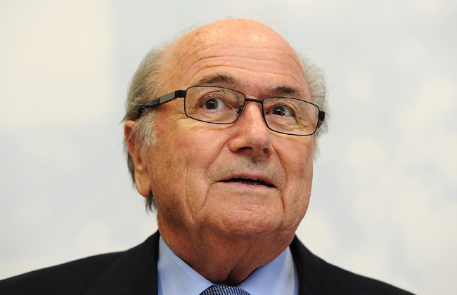 Sepp Blatter made his comments about Gareth Bale while at FIFA headquarters in Zurich.
