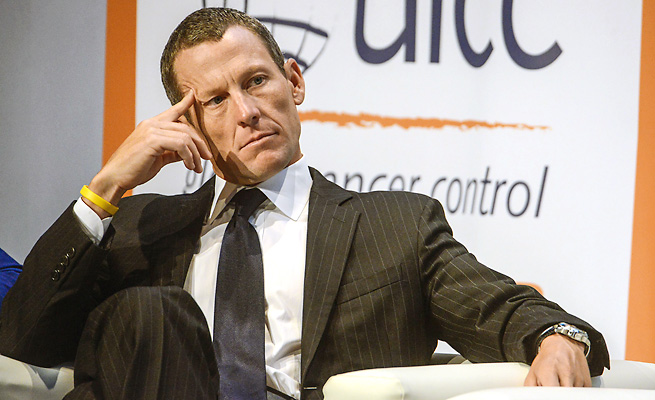 """The Armstrong Lie,"" a documentary about Lance Armstrong and his vigorous attempts to hide his doping, debuts in the U.S. on Nov. 8."