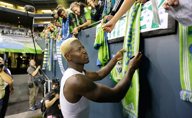Eddie Johnson won the 2012 comeback player of the year award after having joined Seattle.
