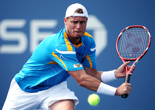 Lleyton Hewitt, the 2001 U.S. Open champion, nearly advanced to the quarterfinals for the first time since 2006.