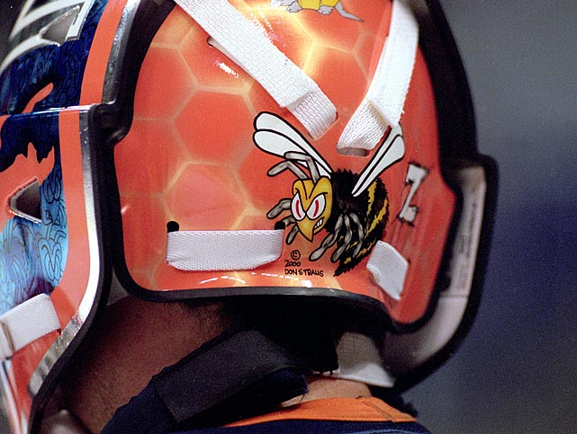 Beezer eventually returned to New York when the Flyers traded him to the Islanders in June 2000 (for a fourth round pick that Nashville later turned into Jordin Tootoo). He endured 44 games with the hapless Isles before being dealt to New Jersey in March 2001 for netminder Chris Terreri and a pick (draft, not guitar or mining tool).