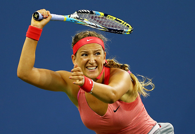 Victoria Azarenka will play Li Na in the semifinals after a strong quarterfinal performance.
