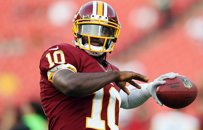 Robert Griffin III will start in Week 1 for Washington despite not playing during the preseason.