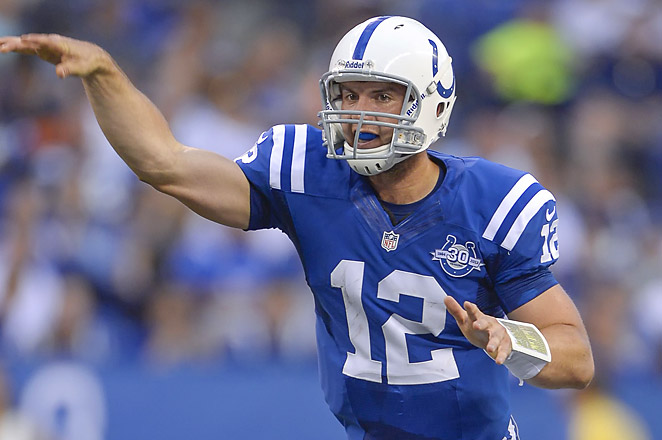 Andrew Luck and the Colts are the safe pick for Week 1 of NFL survivor pools as they face Oakland.