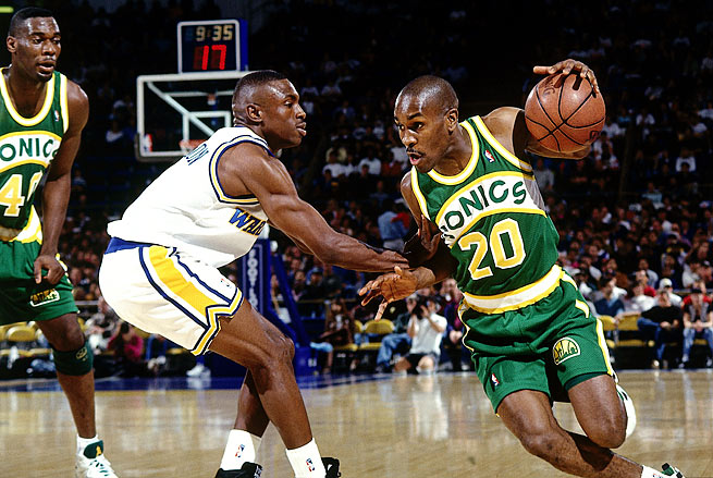 Gary Payton made nine All-Star teams and nine All-Defensive first teams in his 17-year career.