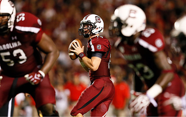 After beating Georgia 35-7 last fall, Connor Shaw and South Carolina will look for a similar result on Saturday.
