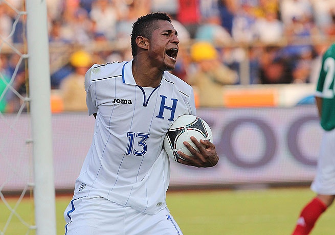 Carlos Costly scored the go-ahead goal for Honduras in their surprising defeat of Mexico.