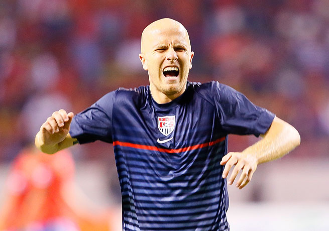 The look of pain on Michael Bradley's face foreshadowed a frustrating night for the United States.