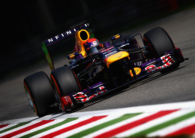 Sebastian Vettel grabbed his fourth pole of the season Saturday at the Italian Grand Prix.