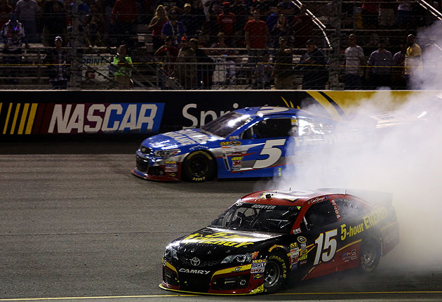 An ESPN replay that included communication between Bowyer and his team implied the spin was deliberate.