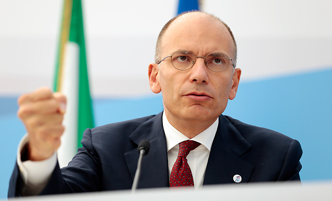 Italian Premier Enrico Letta has hinted that the country could bid to host the 2024 Olympics.