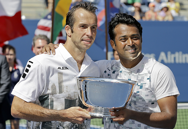 Radek Stepanek helped Leander Paes win his 8th men's doubles title with a victory at the U.S. Open.