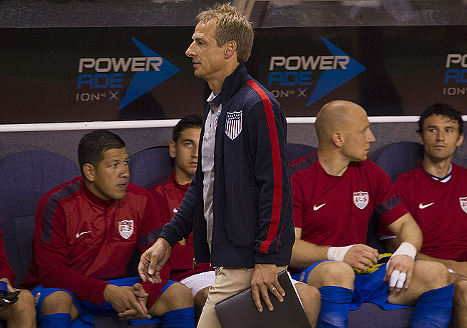 U.S. coach Jurgen Klinsmann isn't too worried about his squad's direction after a loss to Costa Rica.