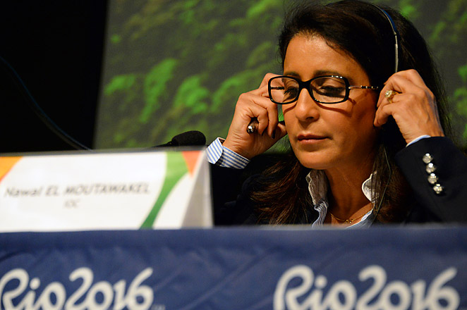 IOC inspectors - led by Morocco's Nawal El Moutawakel - visited Rio and warned that work must be sped up.