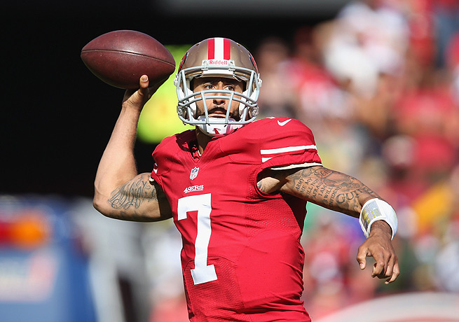 It looks like Colin Kaepernick's first full season as a starting quarterback will be worth the fantasy hype.