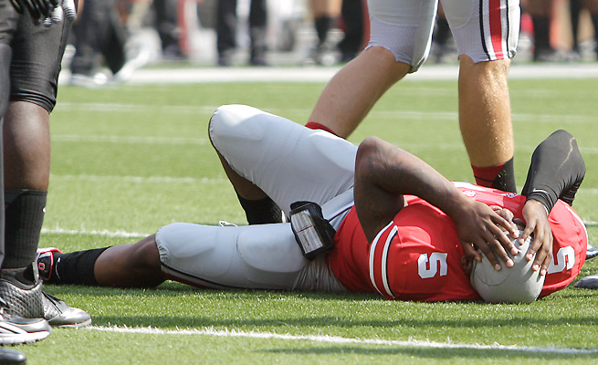 Braxton Miller has thrown for 208 yards with two touchdowns and an interception this season.
