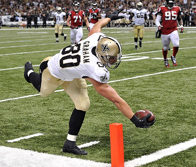 The NFL is now in its third season of reviewing every scoring play. Here are some of the more interesting ones from Week 1 that were either upheld or wiped away, beginning with Jimmy Graham getting the ball across the plane before falling out of bounds.