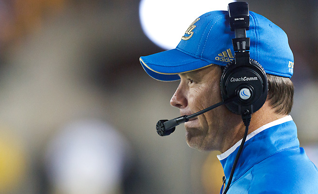 "Jim Mora Jr. told a video reporter to ""shut up"" after he began talking while Mora was speaking."